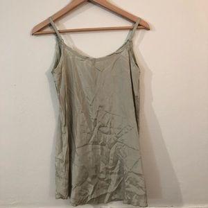 Free People Dresses - Free People Jade Green V Neck Slip Dress FP One